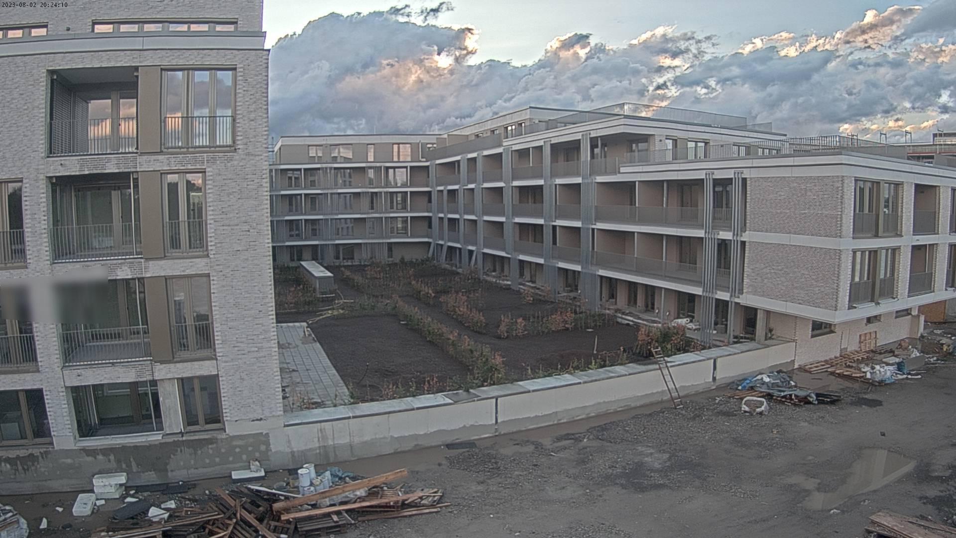 Webcam - Bauprojekt Speyer AM FLUSS